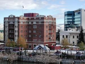 Reno's Riverside Hotel.  Max Chapman, courtesy of Reno Historical